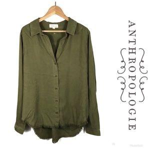NWOT ANTHROPOLOGIE Cloth & Stone Shirt Sz XL $98!